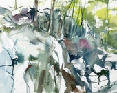 Purgatory Chasm, Sutton MA No 12., limited edition of 50 fine art giclee prints