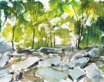 Purgatory Chasm, Sutton MA No.17, limited edition of 50 fine art giclee prints