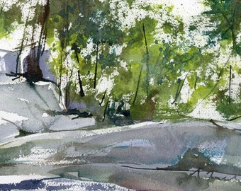 Purgatory Chasm, Sutton MA No.11, limited edition of 50 fine art giclee prints