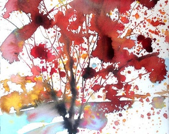 New England Fall-Scape No.4, limited edition of 50 fine art giclee prints