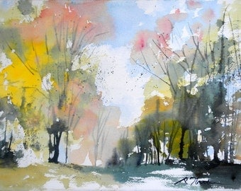 New England Fall-Scape No.12, limited edition of 50 fine art giclee