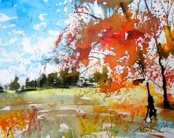 New England Fall-Scape No.13, limited edition of 50 fine art giclee prints