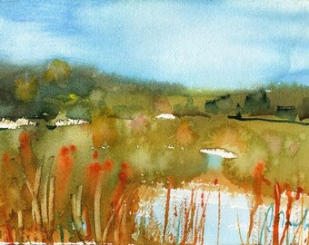 Marsh No.90, limited edition of 50 fine art giclee prints