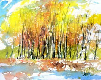 New England Fall-Scape No.10, limited edition of 50 fine art giclee prints