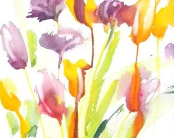 Fresh Pick No.203, 11x15, original watercolor