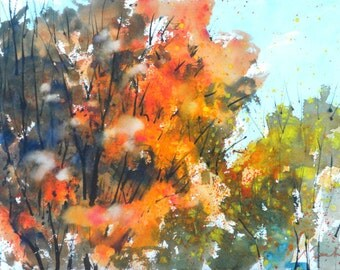 New England Fall-Scape No.26, limited edition of 50 fine art giclee prints