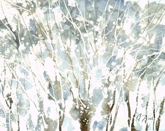 New England Winter-Scape No.42, limited edition of 50 fine art giclee prints