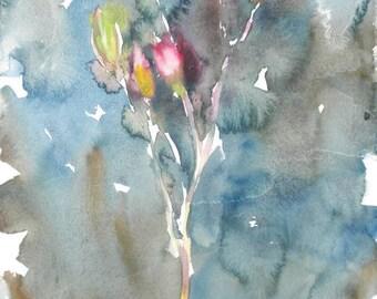 Fresh Pick No.270, 11x15, original watercolor