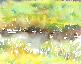 Japan trip No.31, limited edition of 50 fine art giclee prints from my original watercolor