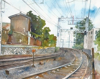 Japan Trip No.34, limited edition of 50 fine art giclee prints