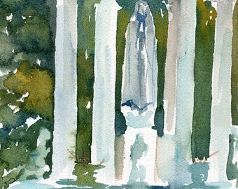 Worcester Sketchbook No122, limited edition of 50 fine art giclee prints from my original watercolor