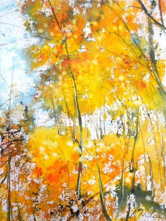 New England Fall-Scape No.17, limited edition of 50 fine art giles prints