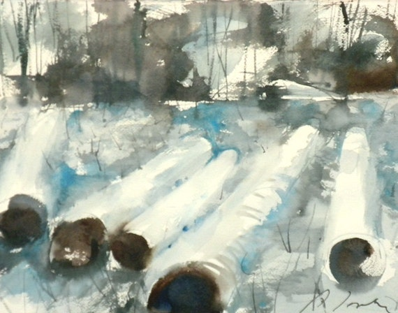 New England Winter-Scape No.65, limited edition of 50 fine art giclee prints