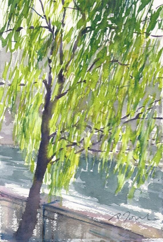 Japan trip No.10, original watercolor