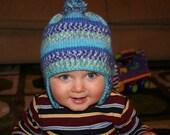 Kasen's Earflap Hat - Knitting Pattern PDF