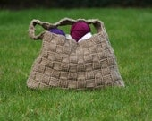 Harvey Basketweave Tote - Crochet Pattern PDF