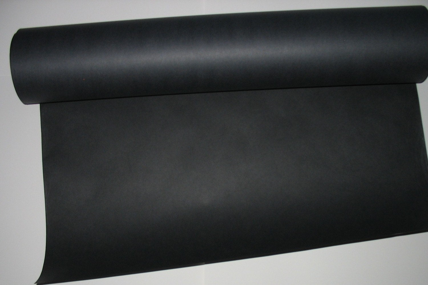 black kraft paper recycled 10 ft roll