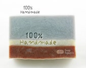 100% Handmade / Acrylic Soap Stamp ( Soap Republic )