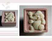 Elephant Silicone Soap Mold ( Soap Republic )