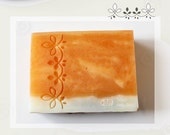 Three Leaves / Acrylic Soap Stamp ( Soap Republic )