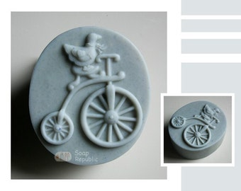 Take a Ride Silicone Soap Mold ( Soap Republic )