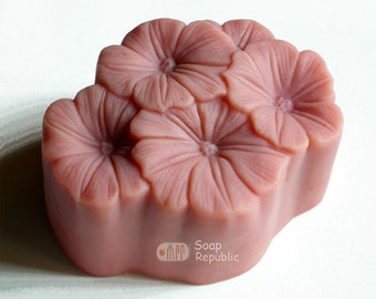 Morning Glory Silicone Soap Mold ( Soap Republic )