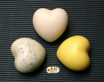 SoapRepublic Valentine Big Love Heart Shape Silicone Soap Mold