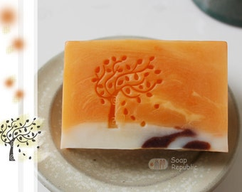 Swaying Tree / Acrylic Soap Stamp ( Soap Republic )