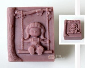 Swing Ride Silicone Soap Mold ( Soap Republic )