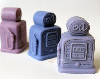 Soapers Oil Station Silicone Soap Mold ( Soap Republic )