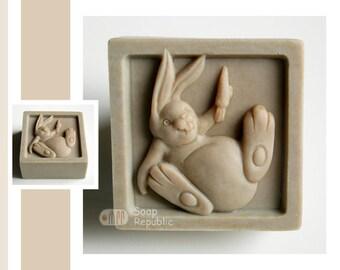 Rabbit Silicone Soap Mold ( Soap Republic )
