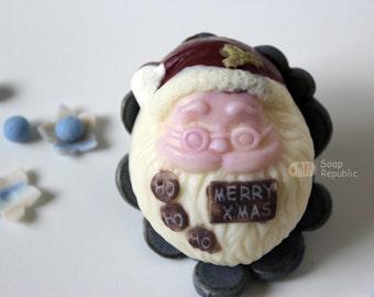 Santa Claus Silicone  Soap Mold ( Soap Republic )