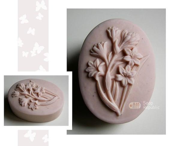 Tuberose Silicone Soap Mold ( Soap Republic )