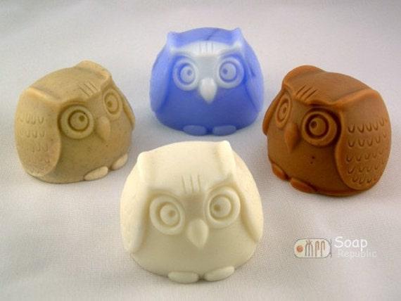 Owl Silicone Soap Mold ( Soap Republic )