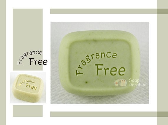 Fragrance Free / Acrylic Soap Stamp ( Soap Republic )