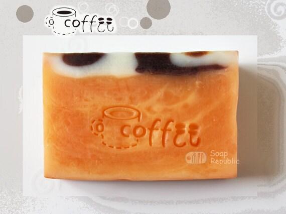 Coffee / Acrylic Soap Stamp (Soap Republic )