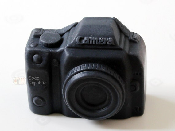Camera Silicone Soap Mold ( Soap Republic )