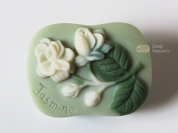 Jasmine Flower Silicone Soap Mold ( Soap Republic )