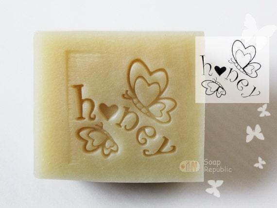 Honey / Acrylic Soap Stamp ( Soap Republic )