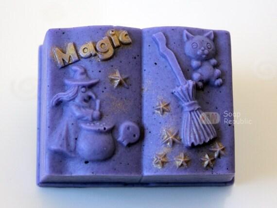 Magic Book Silicone Soap Mold ( Soap Republic )