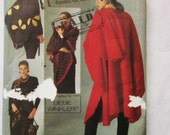 Vogue 8555 Cape, Shawls & Pouch by Bebe Winkler - One Size Fits All