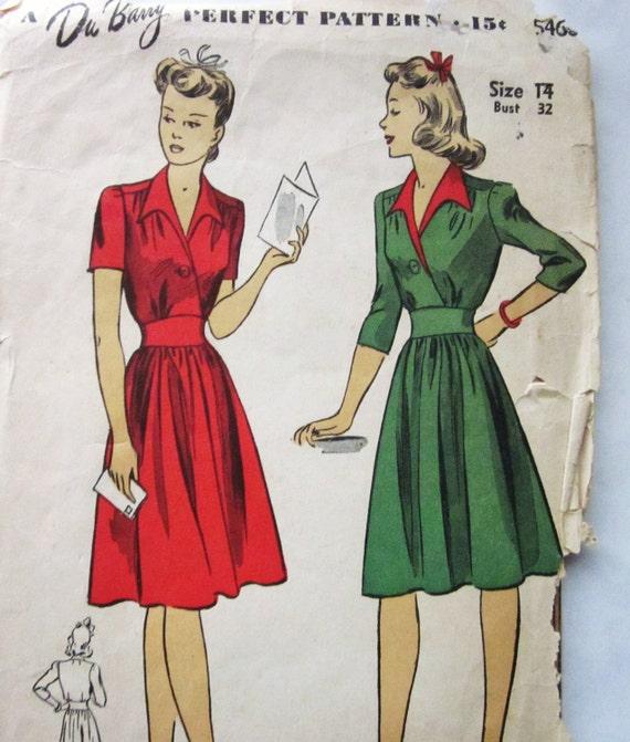 30s dress patterns