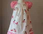 Girls Peasant Dress - Sophie