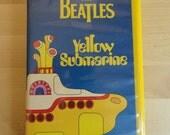 Beatles Yellow Submarine VHS