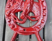 Red Twin Horse Hook