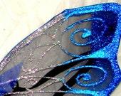 Midnight blue fairy Wings