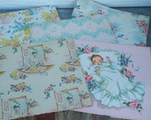 Vintage Baby and Wedding Gift Wrap