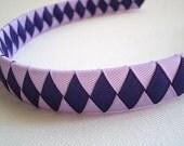 Purple Woven Headband
