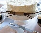 Twig Cake Decoration