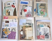 DIY Collage Visual Art Journal Paper Ephemera Pack